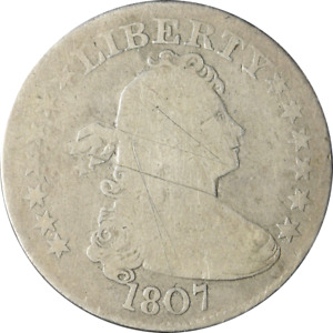 1807 BUST QUARTER GREAT DEALS FROM THE EXECUTIVE COIN COMPANY
