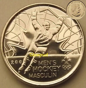CANADA COIN .25C VANCOUVER 2010 OLYMPICS