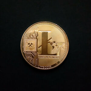 LTC WRIGHT'S LITECOIN VIRTUAL COLLECTION COMMEMORATIVE COIN COLLECTABLE