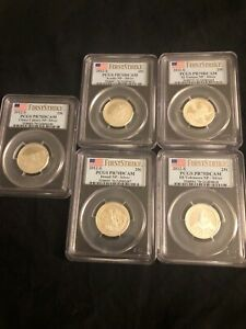 Click now to see the BUY IT NOW Price! FIRST STRIKE 2012 S SILVER NATIONAL PARKS QUARTER SET PCGS PR70DCAM