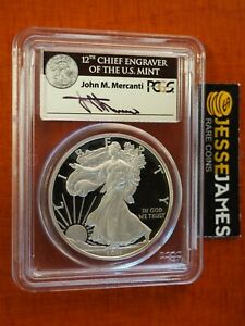 Click now to see the BUY IT NOW Price! 2011 W PROOF SILVER EAGLE PCGS PR70 DCAM FS MERCANTI FROM 25TH ANNIVERSARY SET