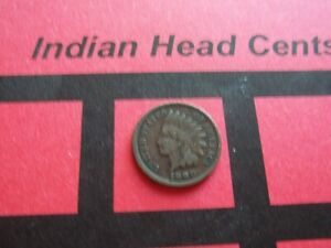 NICE 1890 INDIAN HEAD CENT   CIRCULATED   IHCS12
