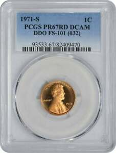 Click now to see the BUY IT NOW Price! 1971 S LINCOLN CENT DDO FS 101 PR67RD DCAM PCGS