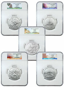 Click now to see the BUY IT NOW Price! 2012 5 COIN SET AMERICA THE BEAUTIFUL 5 OZ SILVER ATB SPECIMEN NGC SP70 SKU59147