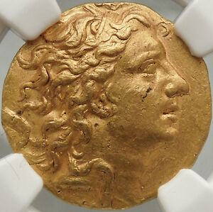 Click now to see the BUY IT NOW Price! MITHRADATES VI GREAT 84 BC ANCIENT GREEK GOLD STATER CERTIFIED NGC AU FINE STYLE