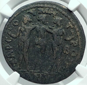 Click now to see the BUY IT NOW Price! MAXIMINUS I THRAX AUTHENTIC ANCIENT MEDALLIC ROMAN COIN TARSUS THREE GRACES NGC