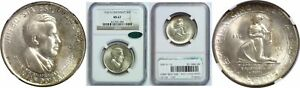 Click now to see the BUY IT NOW Price! 1936 D CINCINNATI SILVER COMMEMORATIVE NGC MS 67 CAC