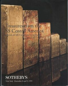 TREASURES FROM THE SS CENTRAL AMERICA 1999 SOTHEBYS CATALOG