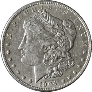 1904 P MORGAN SILVER DOLLAR GREAT DEALS FROM THE EXECUTIVE COIN COMPANY