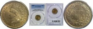 Click now to see the BUY IT NOW Price! 1861 INDIAN HEAD CENT PCGS MS 65