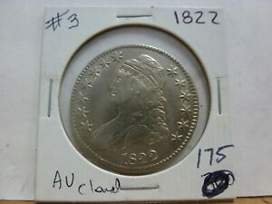 1822 CAPPED BUST HALF DOLLAR 3