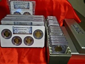 Click now to see the BUY IT NOW Price! 2007 S 2016 S PRESIDENTIAL DOLLAR PROOF SET NGC PF 70 ULTRA CAMEO   39 COINS