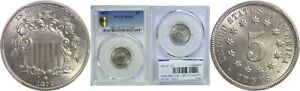 Click now to see the BUY IT NOW Price! 1874 SHIELD NICKEL PCGS MS 66