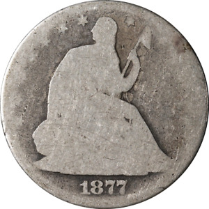 1877 P SEATED HALF DOLLAR GREAT DEALS FROM THE EXECUTIVE COIN COMPANY   BBHE6267