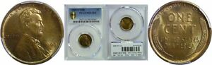 1909 S VDB LINCOLN CENT PCGS MS 63 RB
