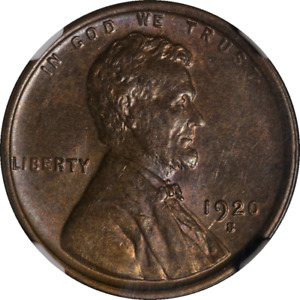 1920 S LINCOLN CENT NGC MS63BN GREAT EYE APPEAL NICE LUSTER NICE STRIKE