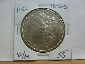 1898 S MORGAN SILVER DOLLAR 11 23