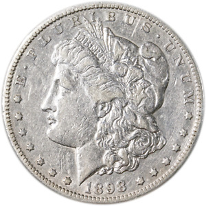 1898 S MORGAN SILVER DOLLAR GREAT DEALS FROM THE EXECUTIVE COIN COMPANY