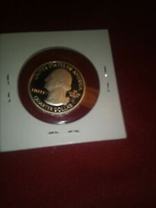 2010 S GRAND CANYON NATIONAL PARK QUARTER PROOF COIN.  BRILLIANT & UNCIRCULATED