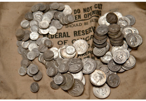 LOT OF 1/2 ONE HALF TROY POUND LB US. SILVER COINS SURVIVAL SILVER