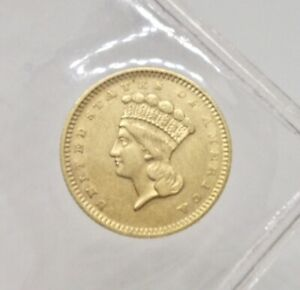 1859 S ONE $1 DOLLAR GOLD COIN TYPE III