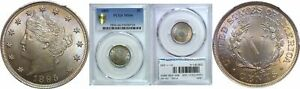 Click now to see the BUY IT NOW Price! 1895 LIBERTY NICKEL PCGS MS 66