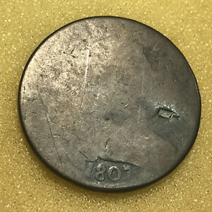 1807 DRAPED BUST LARGE CENT LOW GRADE W/ PROBLEMS