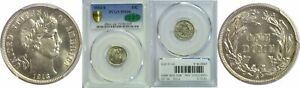 Click now to see the BUY IT NOW Price! 1913 S BARBER DIME PCGS MS 66 CAC