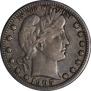1905 S BARBER QUARTER GREAT DEALS FROM THE EXECUTIVE COIN COMPANY