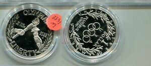 1988 S OLYMPIC SILVER DOLLAR PROOF COIN NO BOX 8831M