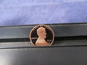 2013 S DEEP CAMEO PROOF LINCOLN CENTS  MIRROR FINISH / REVERSE SIDE   SHIELD