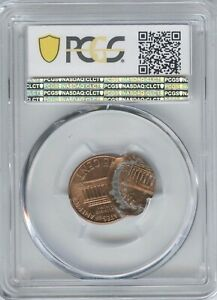 1999 1 DOUBLE STRUCK 70  PCGS MS 66 RED