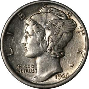 1920 D MERCURY DIME GREAT DEALS FROM THE EXECUTIVE COIN COMPANY