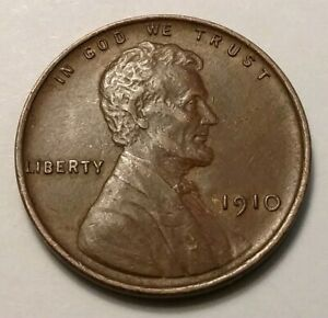 1910 LINCOLN CENT 5977