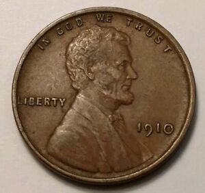 1910 LINCOLN CENT 5978