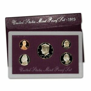 1989 S UNITED STATES PROOF SET OF COINS 1989 BIRTH YEAR SET