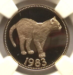 Click now to see the BUY IT NOW Price! BELIZE 1983 MARGAY JUNGLE CAT 100 DOLLARS NGC PR69 GOLD COIN PROOF