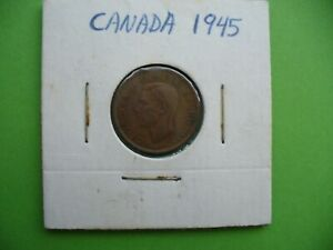 CANADA  1945   ONE CENT