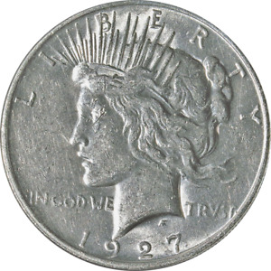 1927 D PEACE DOLLAR GREAT DEALS FROM THE EXECUTIVE COIN COMPANY