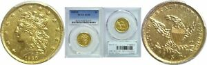 Click now to see the BUY IT NOW Price! 1838 D $5 GOLD COIN PCGS AU 55