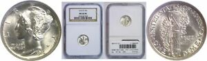 Click now to see the BUY IT NOW Price! 1916 D MERCURY DIME NGC MS 64 FB