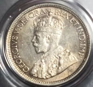 1916 CANADA CANADIAN 10 CENT DIME MS   STATE   UNCIRCULATED COIN NICE