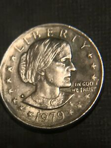 MINT ERROR / 1979 SUSAN B. ANTHONY ONE DOLLAR LIBERTY COIN   FIND