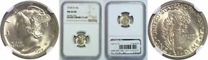 Click now to see the BUY IT NOW Price! 1918 D MERCURY DIME NGC MS 64 FB