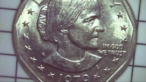 1979 S SUSAN B ANTHONY CIRCULATED DOLLAR  FILLED S ERROR