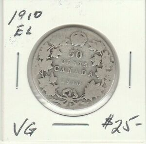 CANADA 1910 50 CENTS EDWARDIAN LEAVES