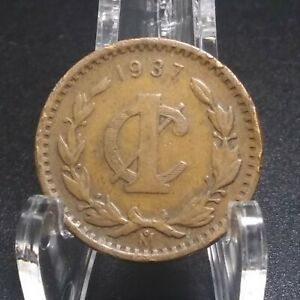 1937 MEXICO 1 CENTAVOS WORLD COIN : ONE CENT : 341  VOLUME DISCOUNTS
