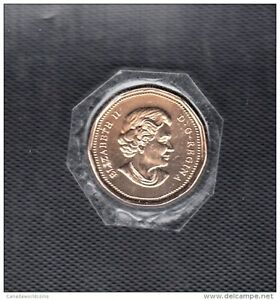 L10 CANADA $1.00 COIN LOONIE 2005 BRILLIANT UNCIRCULATED FROM ROYAL CDN MINT SET