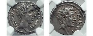 Click now to see the BUY IT NOW Price! POMPEIUS RUFUS: SULLA THE FORTUNATE SILVER DENARIUS 54 BC: NGC
