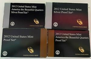 Click now to see the BUY IT NOW Price! 2012 UNITED STATES MINT SILVER PROOF SET  EP5/9 760